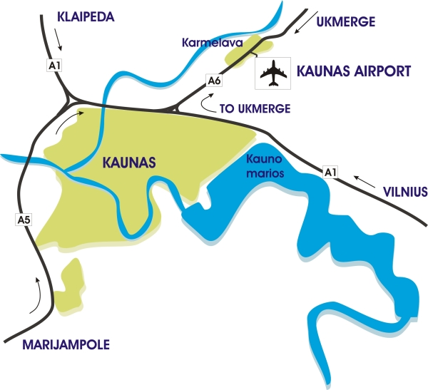 Kaunas Airport in Kaunas: www.kaunasguide.org/kaunas-airport